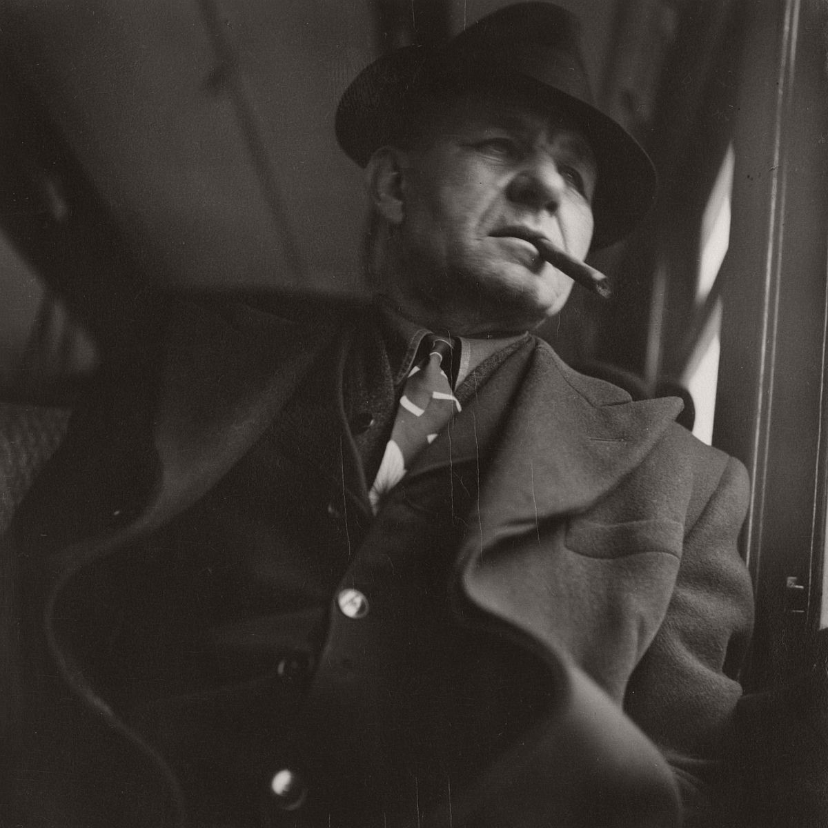 Man with Cigar, 1948