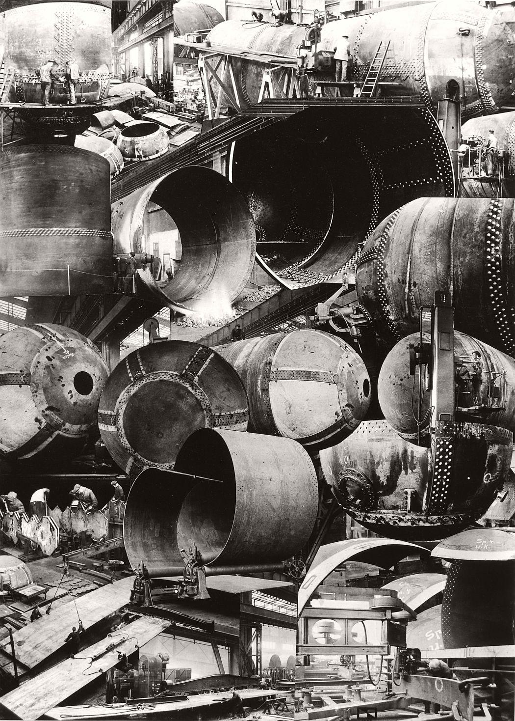Cesar Domela Ruths-Speicher, photomontage, 1928