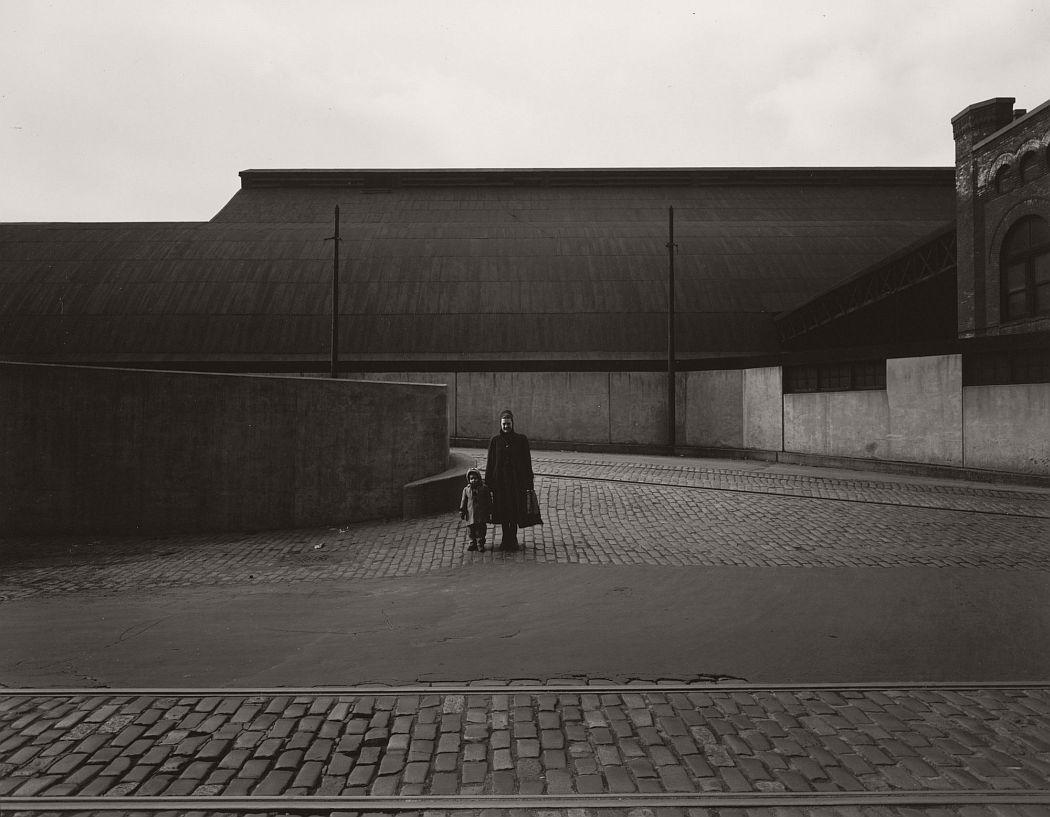Harry Callahan (American, 1912–1999). Eleanor and Barbara, Chicago. 1953. Gelatin silver print, 7 11/16 × 9 11/16″ (19.5 × 24.6 cm). The Museum of Modern Art, New York. Gift of Robert and Joyce