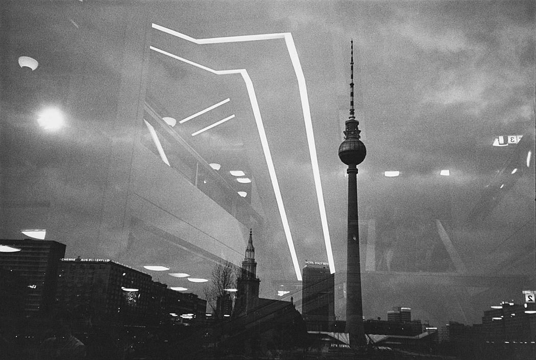 © Ulrich Wust, Palast der Republik, Berlin, silver gelatin print, 1985.