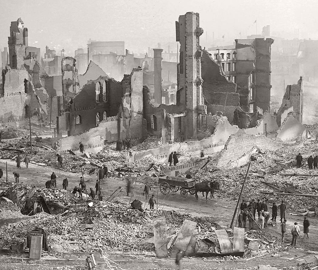 Vinatge: The Great Baltimore Fire In 1904