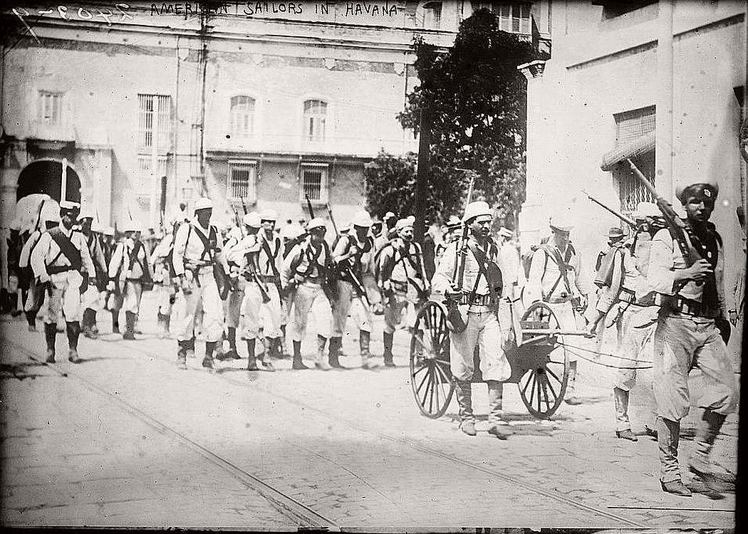 American sailors in Havana, ca. 1910-15