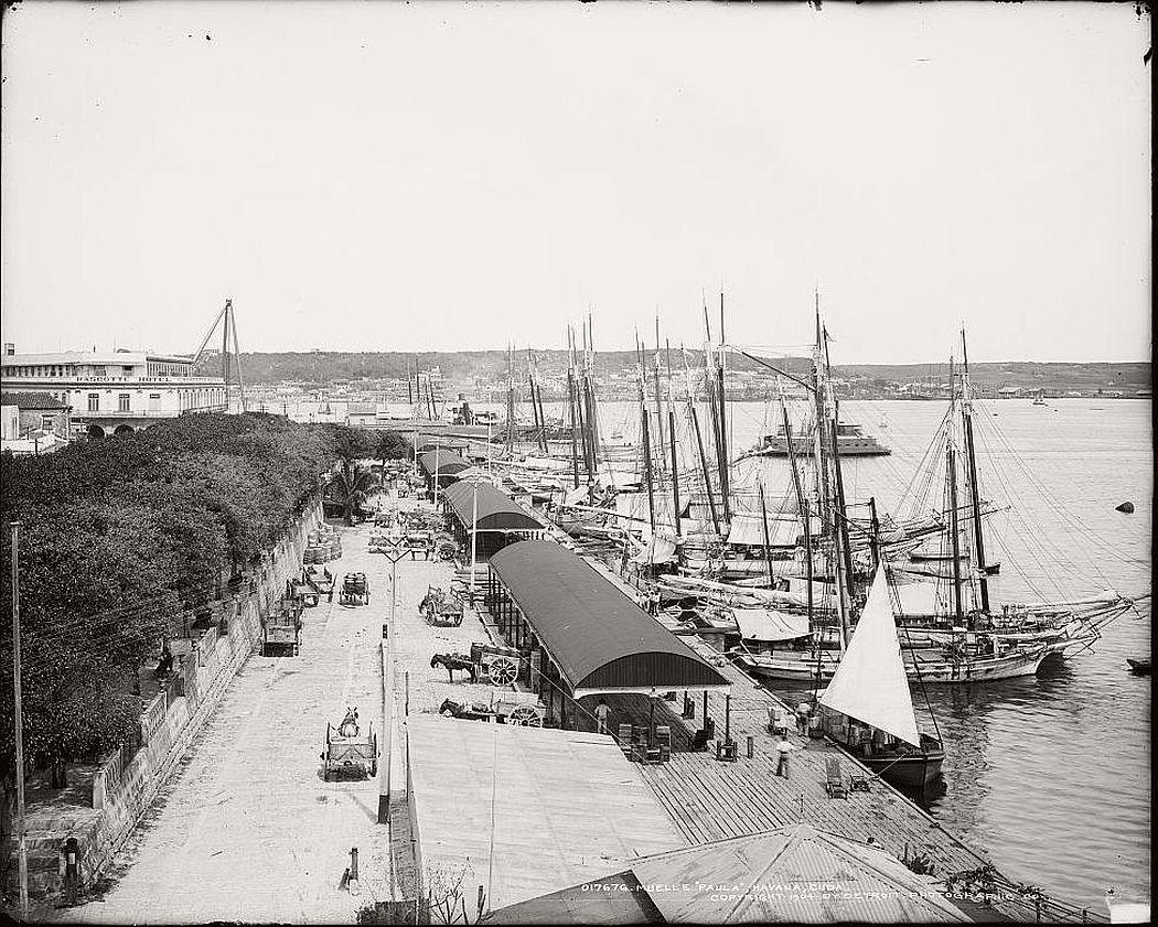 Muelle 'Paula', Havana, ca. 1904