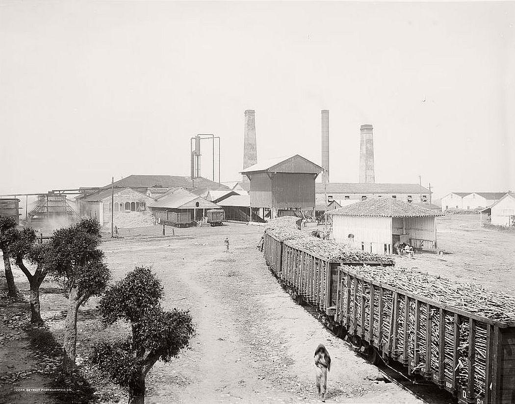 Old sugar mill, Havana, 1904