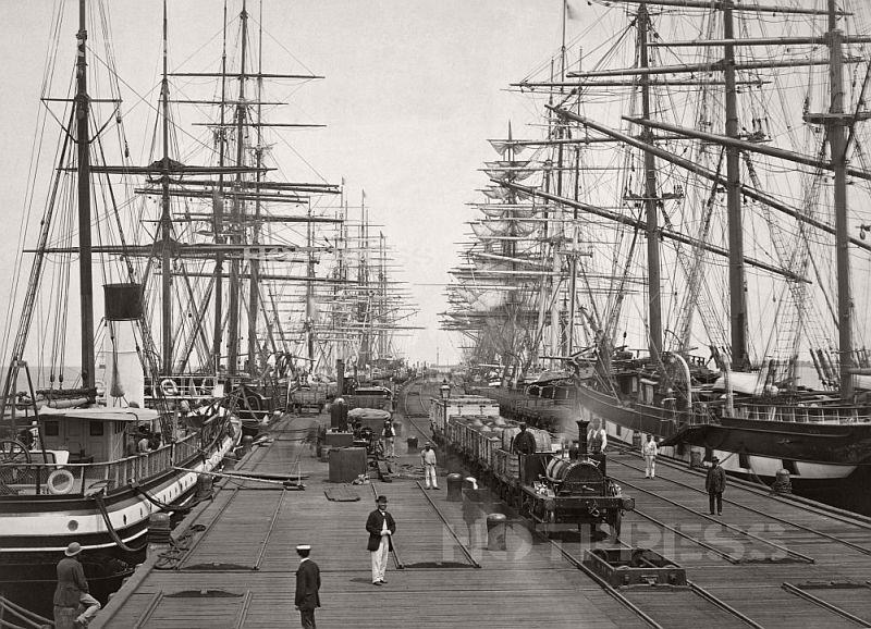 Pier Port Melbourne, 1871