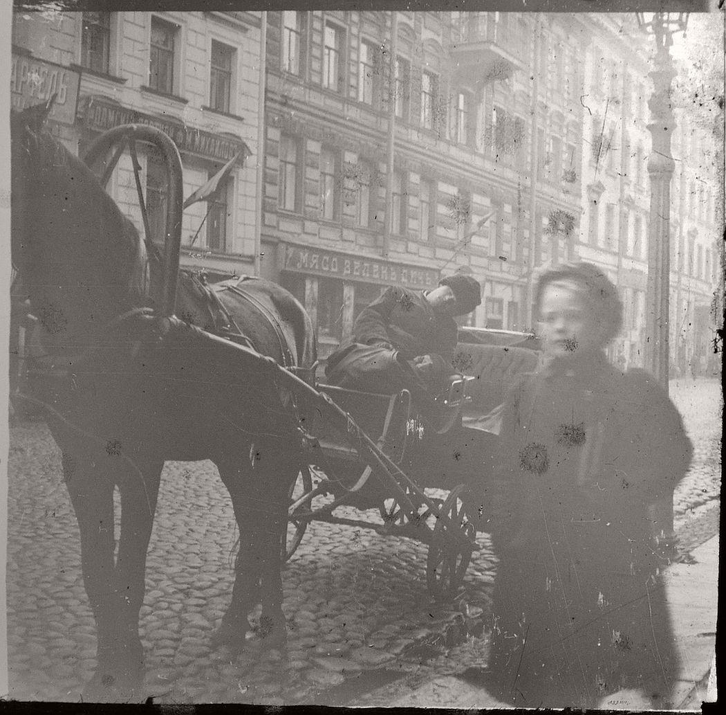 Sleeping Eezvoscheck, St Petersburg, ca. 1910s