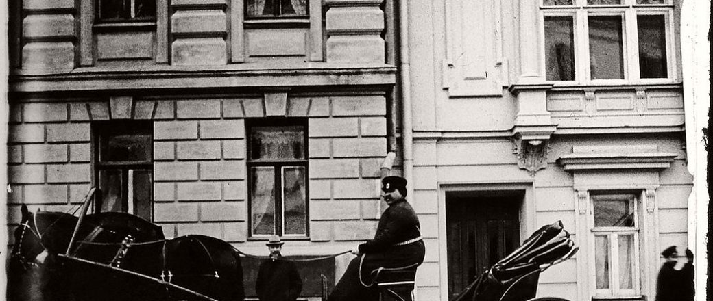 Vintage: Moscow and St. Petersburg during the 1910s