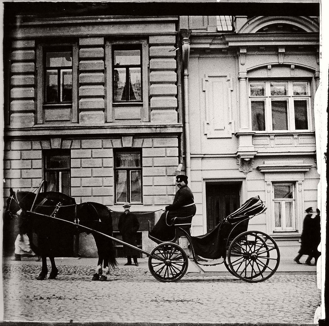 Aristocrat's coach, Moscow, ca. 1910s