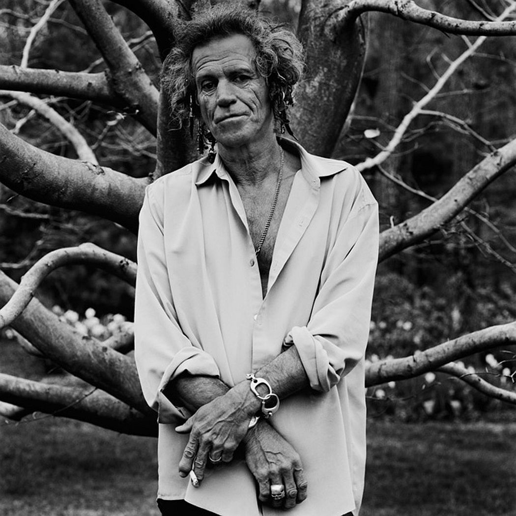 Anton Corbijn Keith Richards, Connecticut 1999
