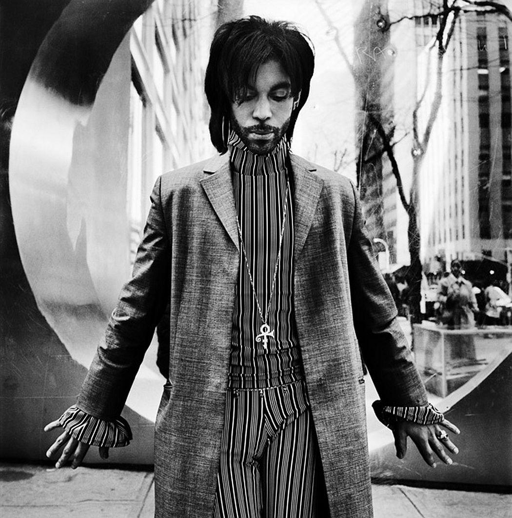 Anton Corbijn Prince, New York 1999
