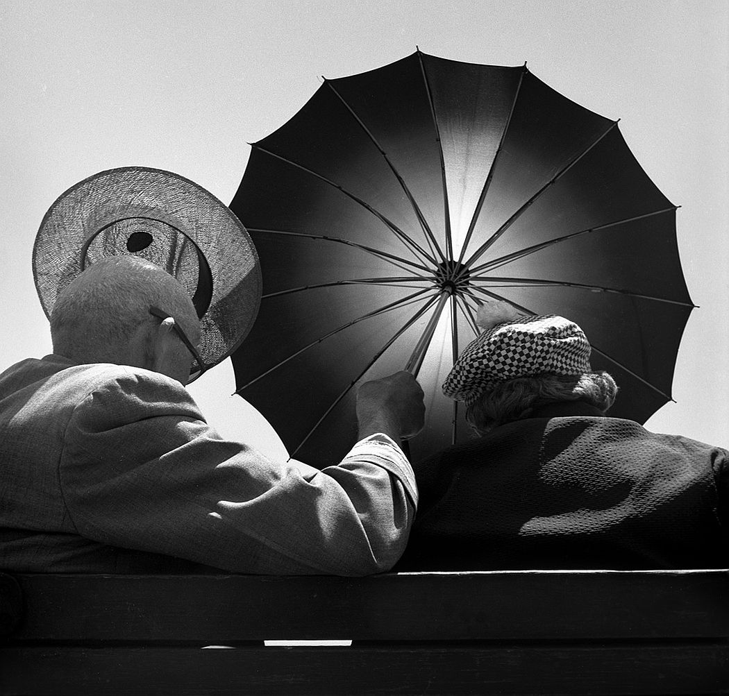 Harold Feinstein  Seeking Shade, 1948