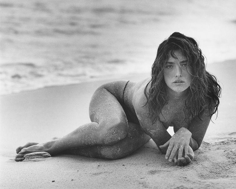 Herb Ritts, Tatjana in Sand (B), St Barthelemy, 1987