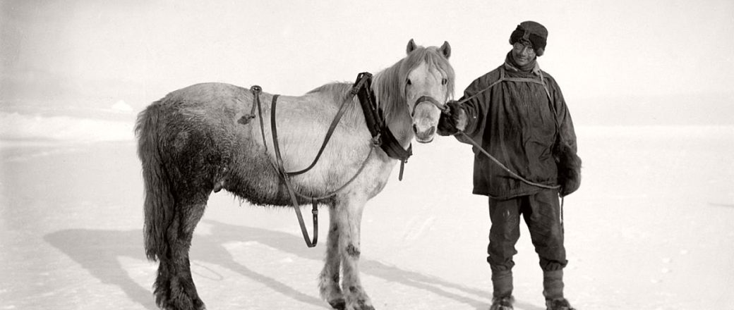 Biography: pioneer Antarctic photographer Herbert G. Ponting