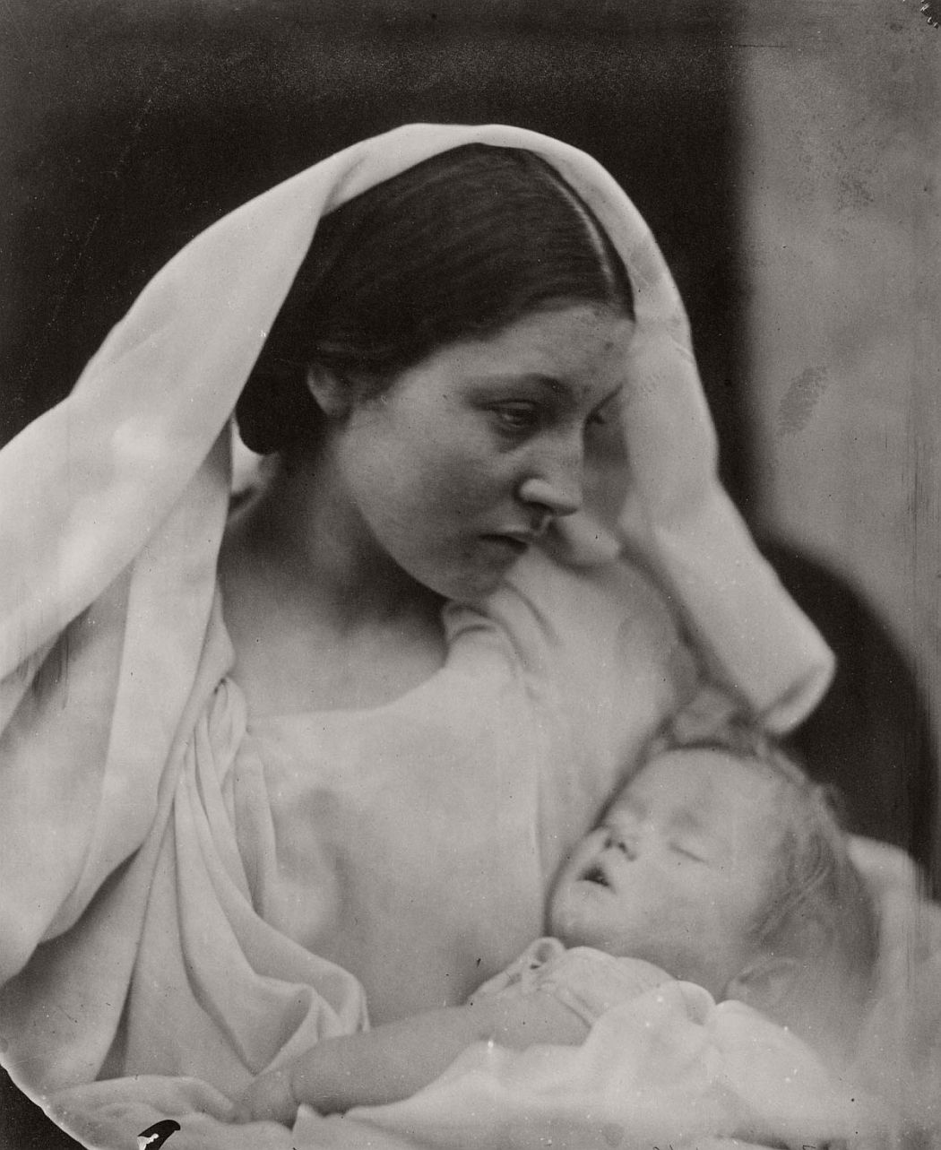 Resting in Hope; La Madonna Riposata, 1864
