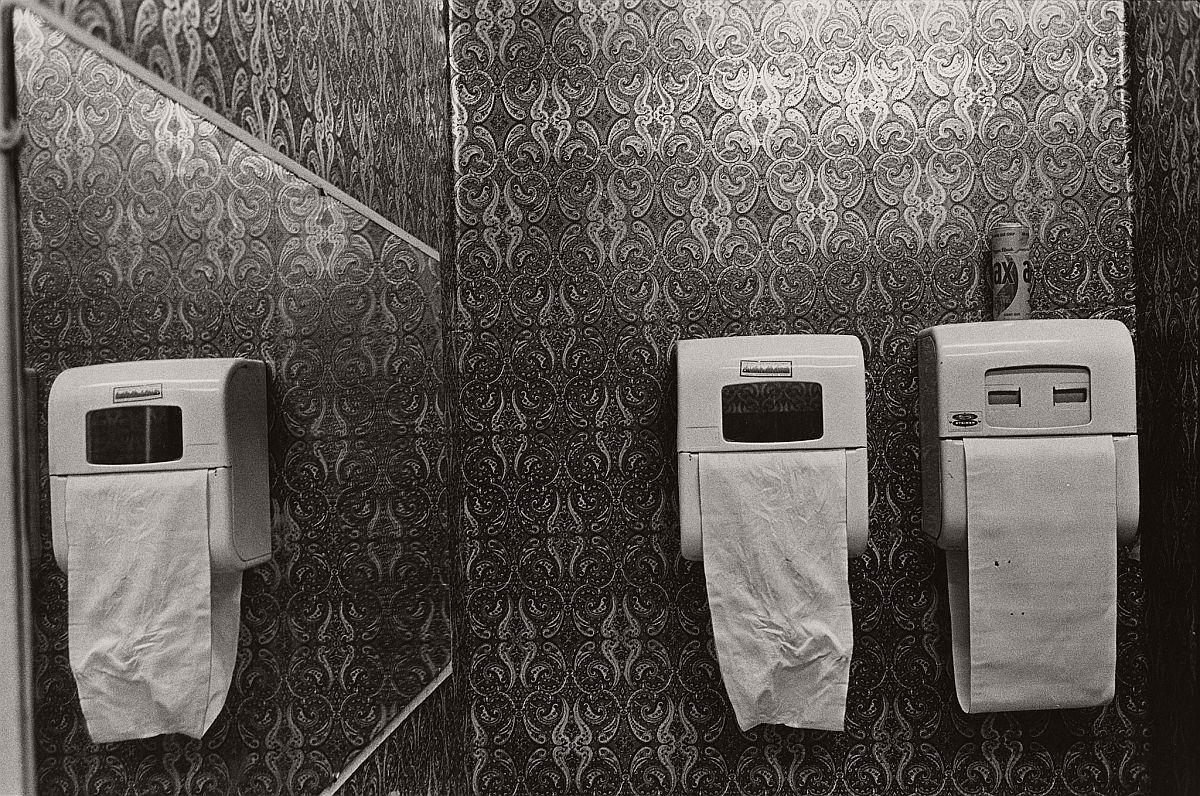 Men's Room of the Village Gate, c. 1971