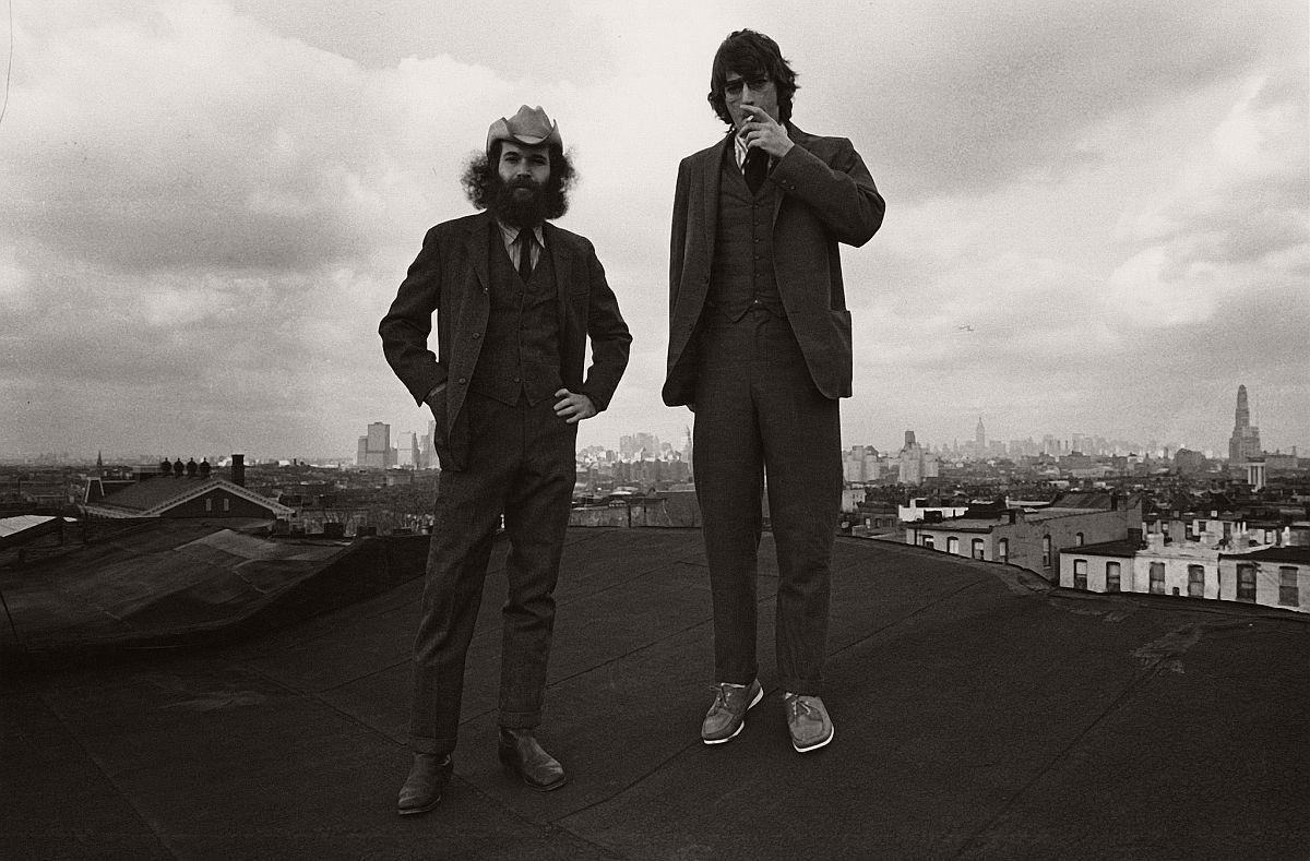 Ken and Me, Rooftop, Brooklyn, 1971