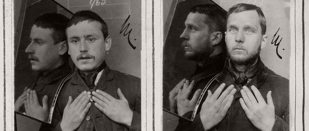Vintage: Mugshots of Prisoners in West London (1890s)