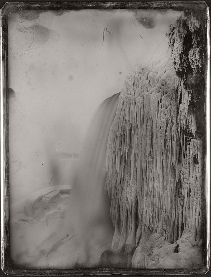 American Falls from below prospect point, Niagara, ca. 1850
