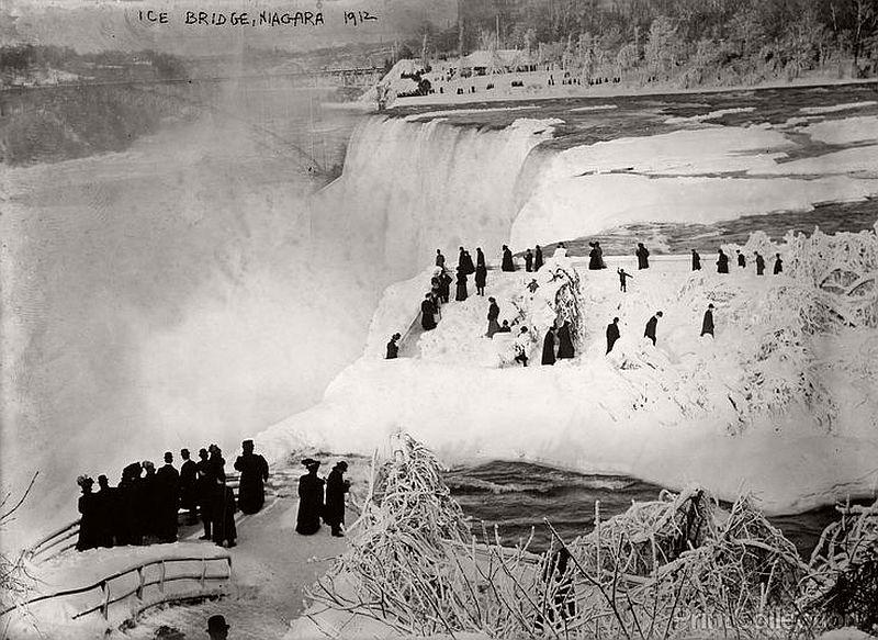 Ice Bridge, Niagara Falls, 1912