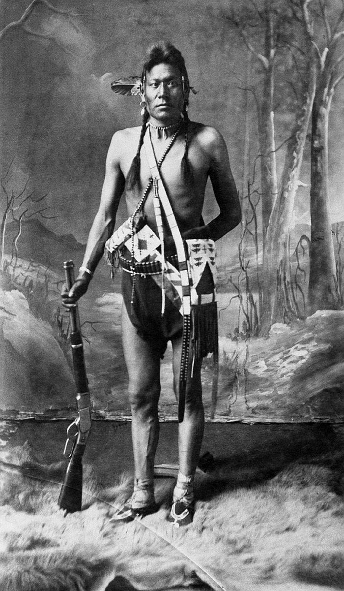 Joseph, Blackfoot man, 1887