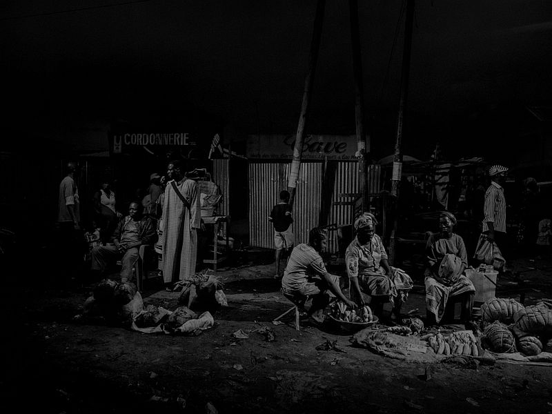 Scene #1095, Pointe Noire, Congo, Market, 2013