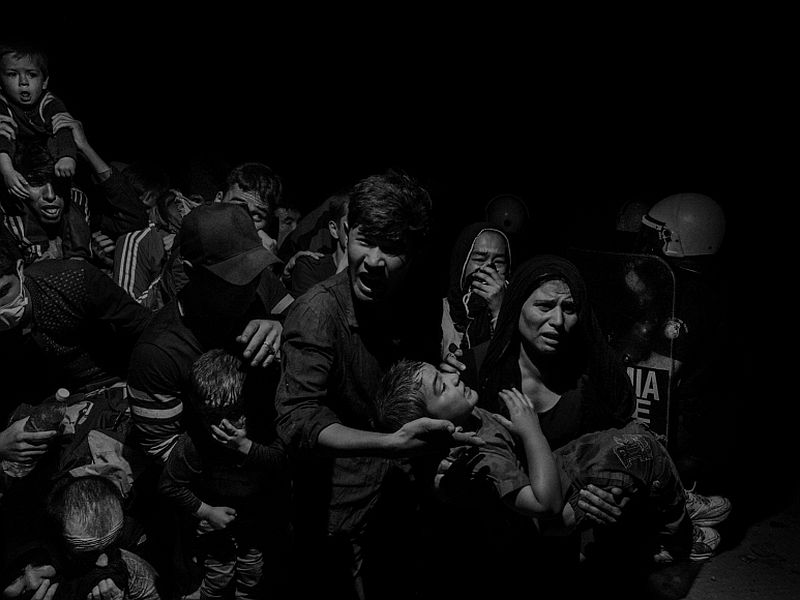 Scene #60410, Lesbos, Greece, Refugees and migrants arriving on Lesbos Island, 2015