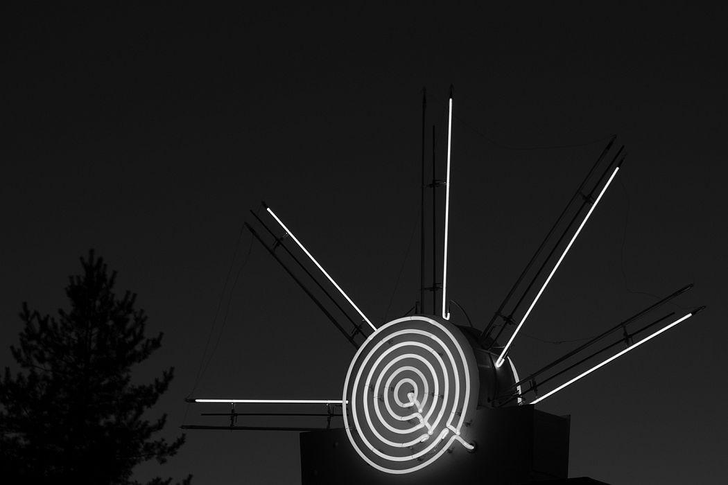 Neon Sign Mt. Carmel Junction, UT, 2016