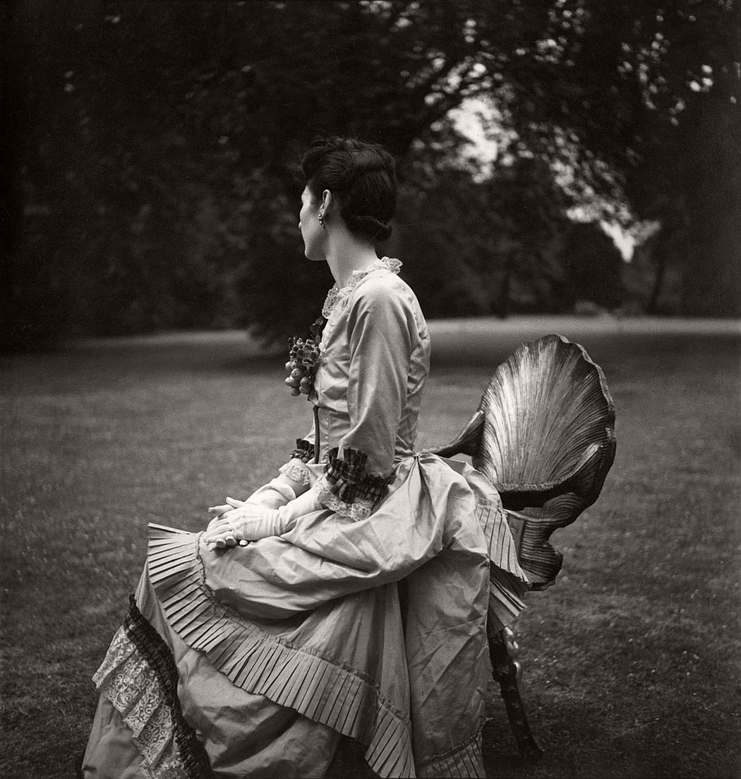 """Alice von Hofmannsthal, Ashcombe, 1937, in her Costume for """"The Gardener's Daughter"""" for """"The Anti Dud Ball"""" at the Dorchester Hotel, 13 July 1937 1937 © Cecil Beaton Archive, Sotheby's"""