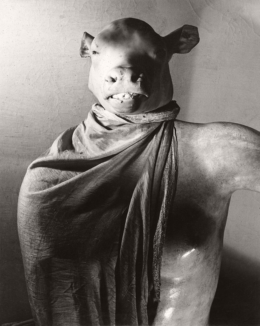 Erwin Blumenfeld Minotaur / Dictator [Minotaure / Dictateur] The Minotaur or The Dictator Paris, c. 1937