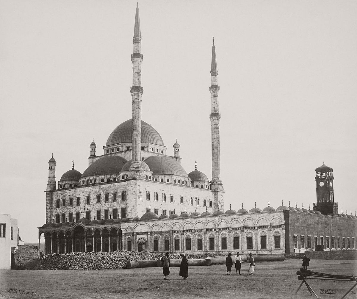 Francis Bedford (1815-94) (photographer) Mosque of Mehemet Ali [Mosque of Muhammad Ali, Cairo] 8 March 1862