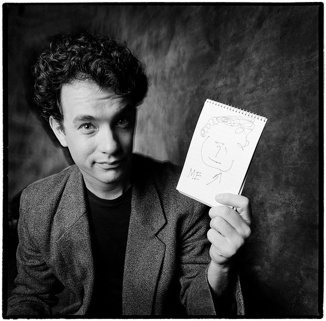 Karen Kuehn  Tom Hanks • 1987 • NYC • Saturday Night Live, 1987