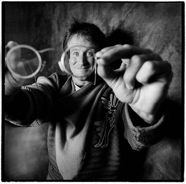 Karen Kuehn  Robin Williams • 1987 • NYC • Saturday Night Live, 1987