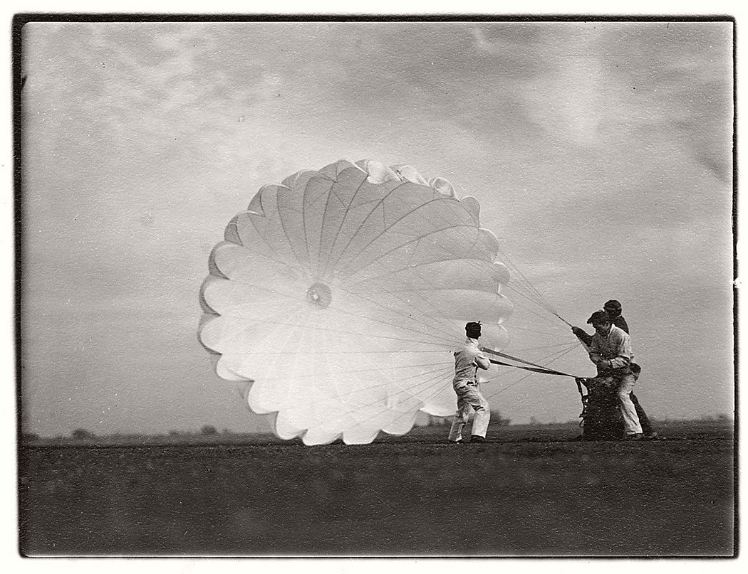 Margaret Bourke-White  Untitled #15 (Twenty Parachutes), 1937