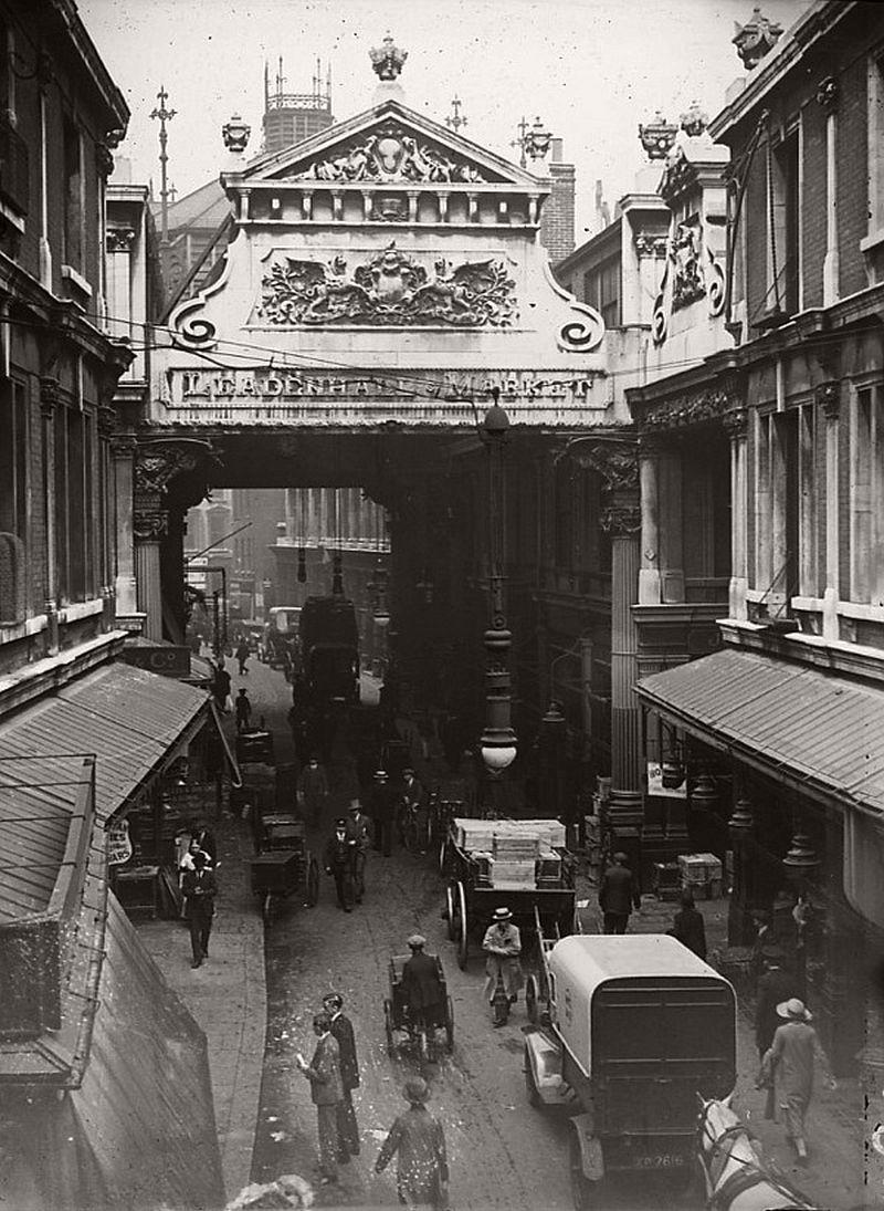 Leadenhall Market, ca.1910