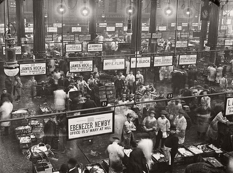 Billingsgate Market, ca.1910