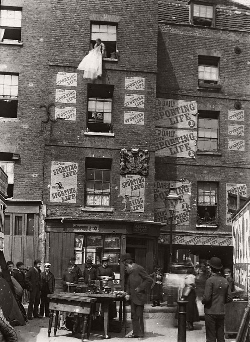 Clare Market, ca. 1900
