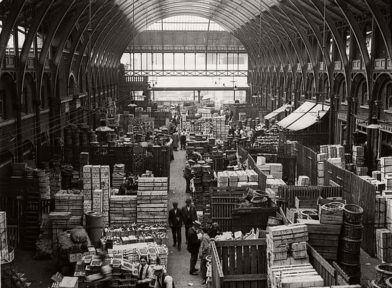 Covent Garden Market, London, early 1900s