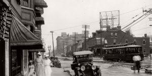 Vintage: Streets of St. Louis, Missouri (1900s)