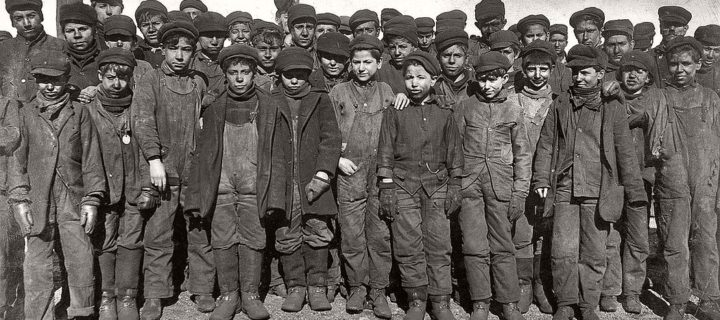 Vintage: American Child Laborers by Lewis Hine (1900s-1910s)