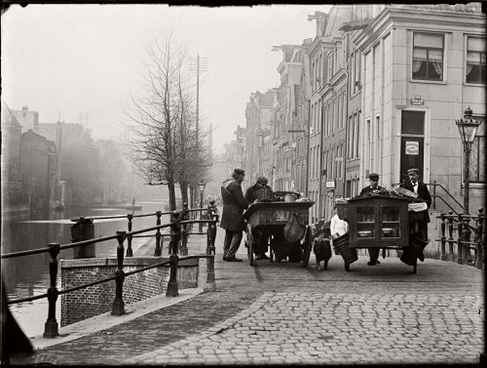 Lijnbaansgracht, corner Reguliersgracht, 12 March 1899