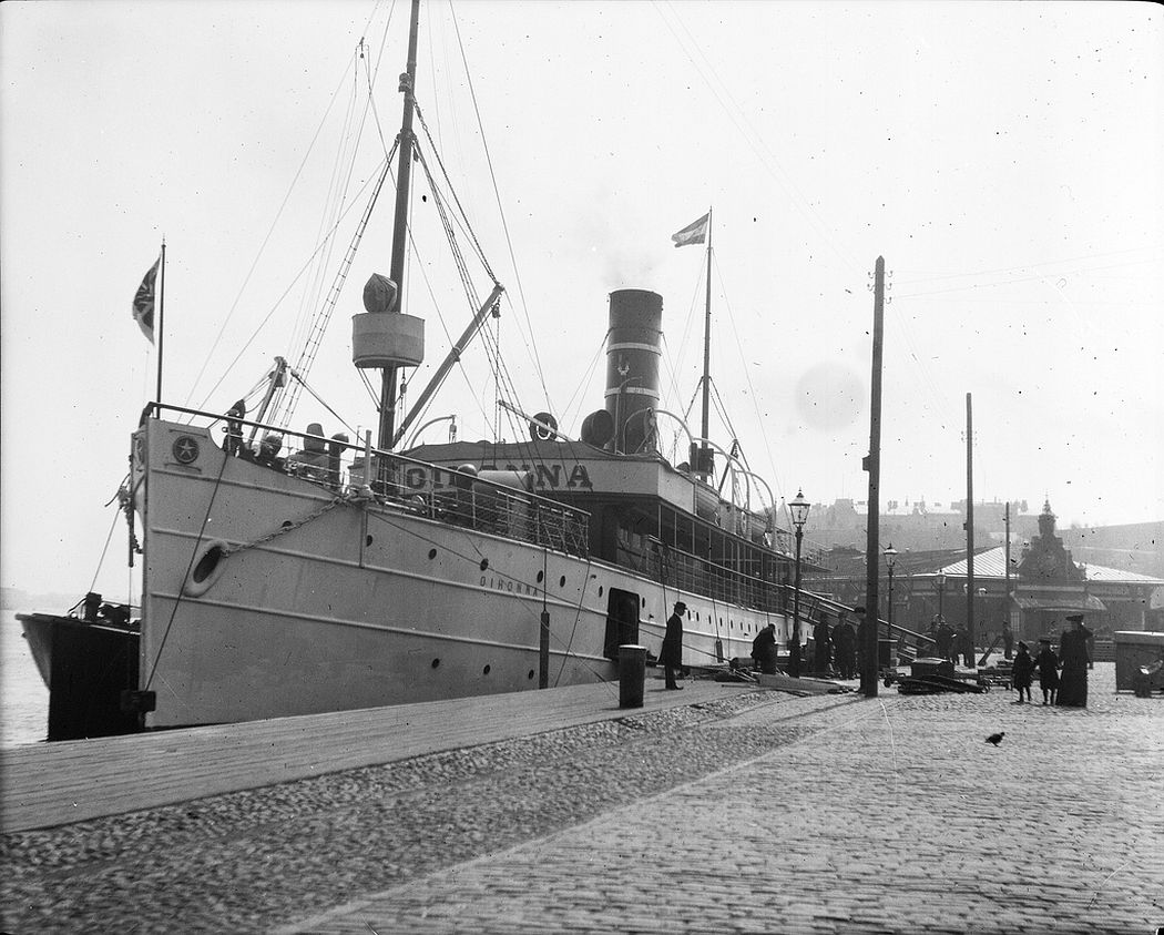 Steamship 'Oihonna', South Harbor, Helsinki