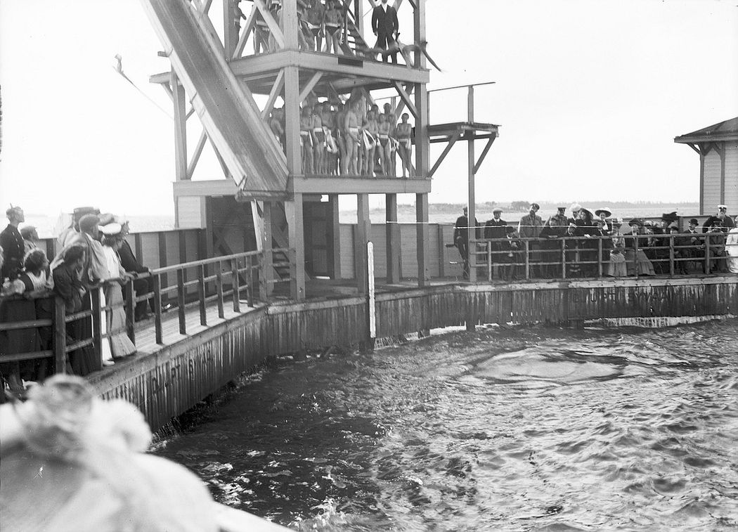 Swimtower in Merihaka, Helsinki