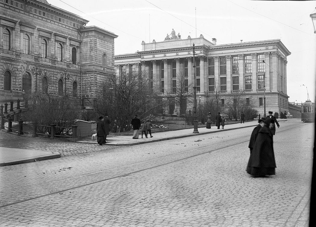The Bank of Finland and the National Archives, Helsinki
