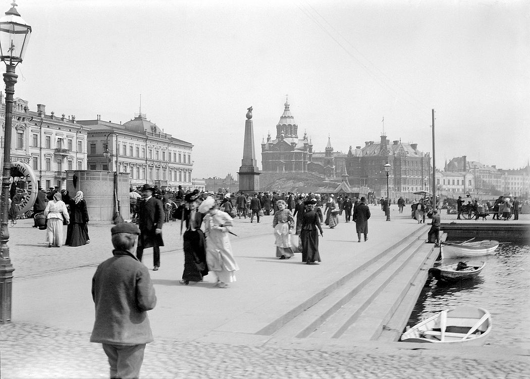 The Market Square, Helsinki