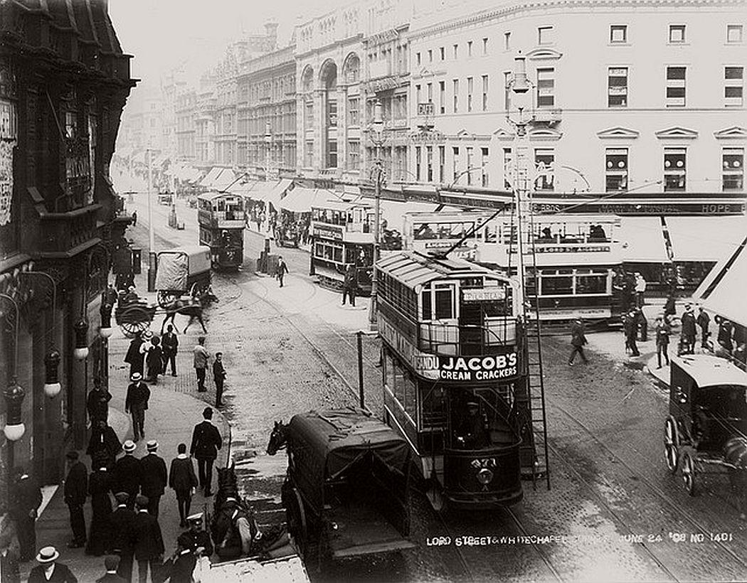 Lord Street , 24 June 1908