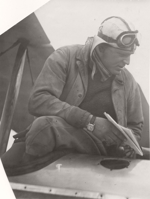 Airmail pilot William Fillmore, 1925