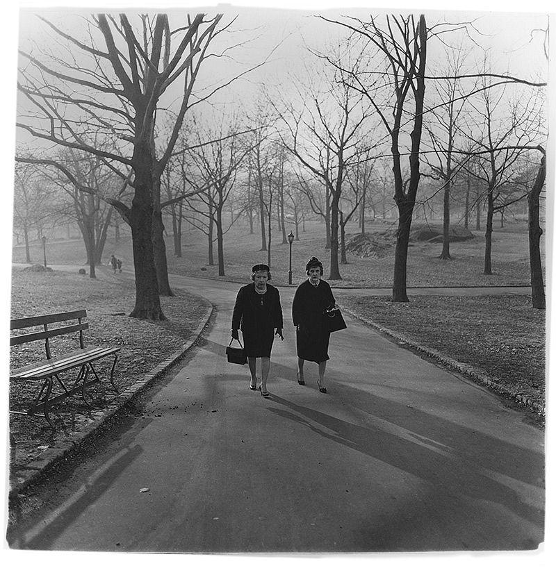 Two ladies walking in Central Park, N.Y.C. 1963 © The Estate of Diane Arbus