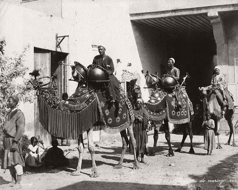 Cairo wedding in 1890