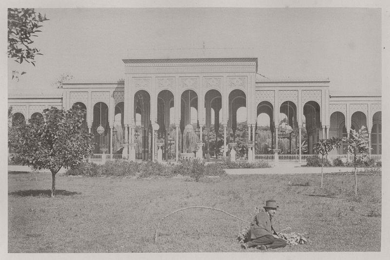 The Palace Gezirah, Cairo, 1873