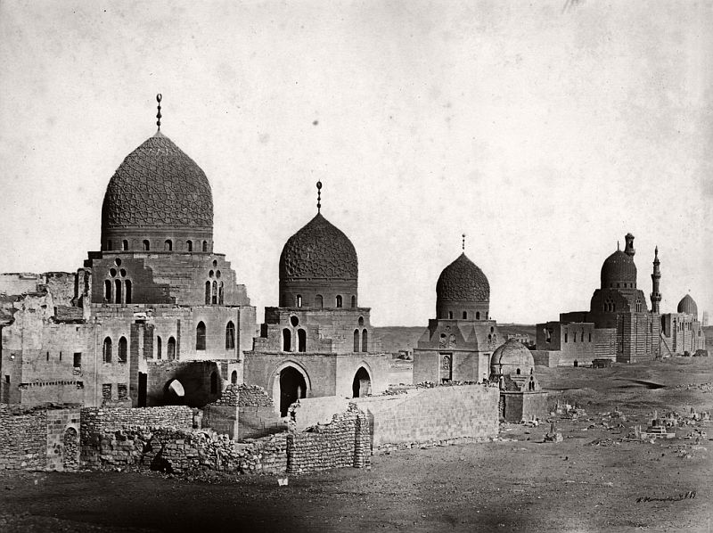 Tombs of the Mamaluks, Cairo, Egypt, 1875
